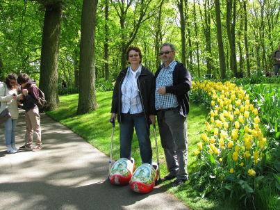 Ihr Gastgeber Gisela und Karl Volkhusen