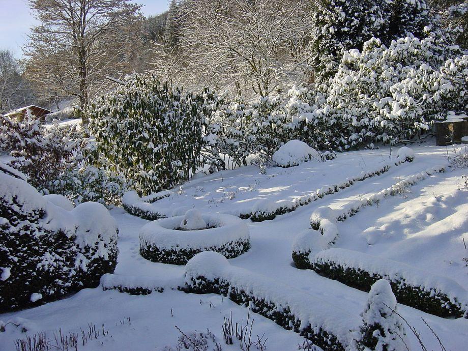 Ferienwohnung morgengl ck 1 hochsauerland ferienwelt winterberg frau judith nieder - Garten im winter ...