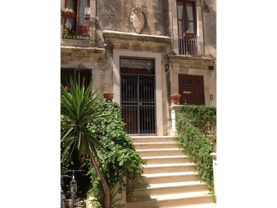 Eingang zu Casa Ortigia