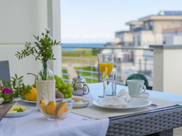 Holiday apartment Villa Sanddorn 14 - Luxury with an ocean view