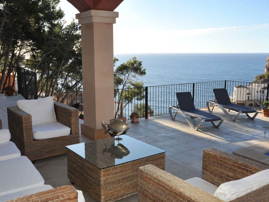Außenaufnahme Sea view villa in Port Andratx ID 2505