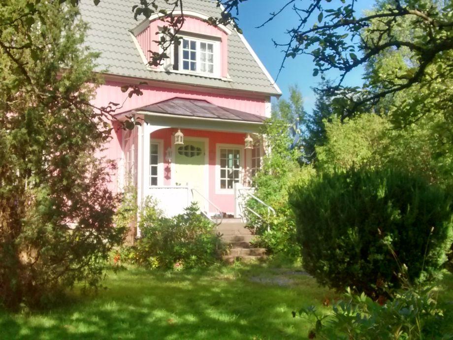 Die Rosa Villa in Flisby