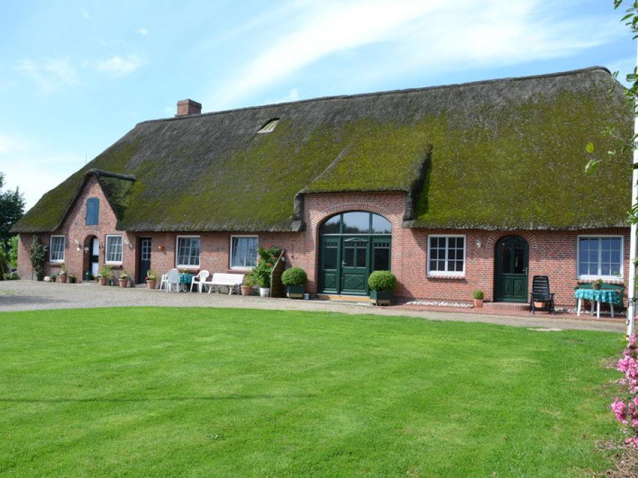 Ansicht des Bauernhauses