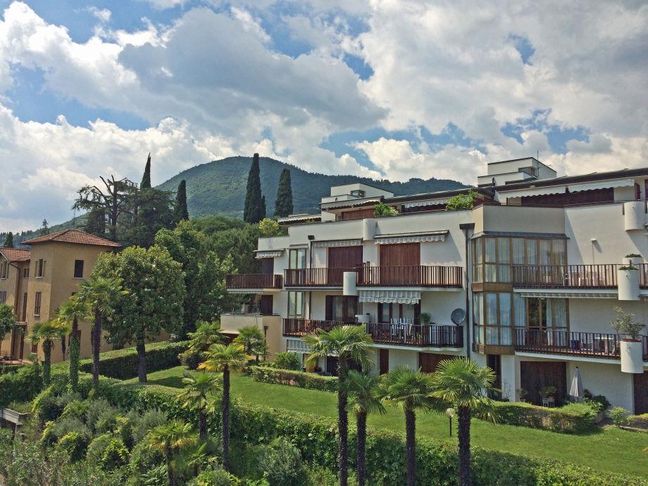 Außenaufnahme Apartment Chiara mit großer Dachterrasse