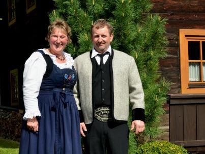 Ihr Gastgeber Barbara und Franz Eberharter