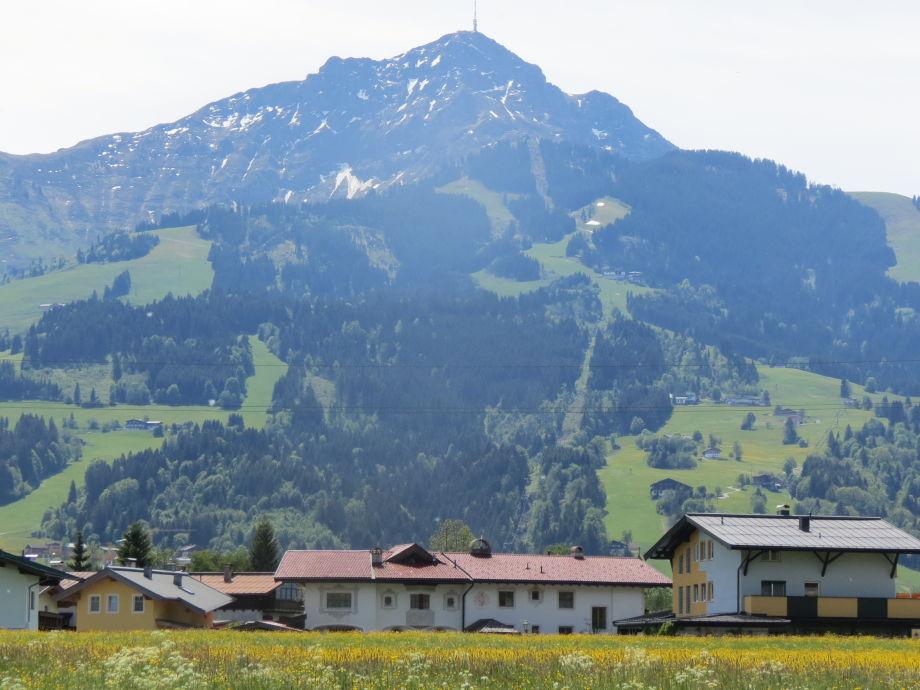 Lage des Hauses vor dem Kitzbüheler Horn