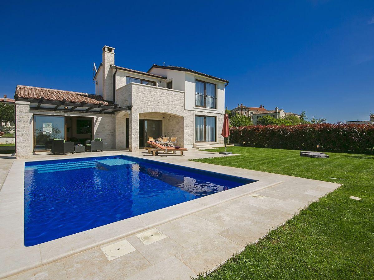 Villa baratto kroatien istrien porec visnjan firma for Kroatien villa mit pool