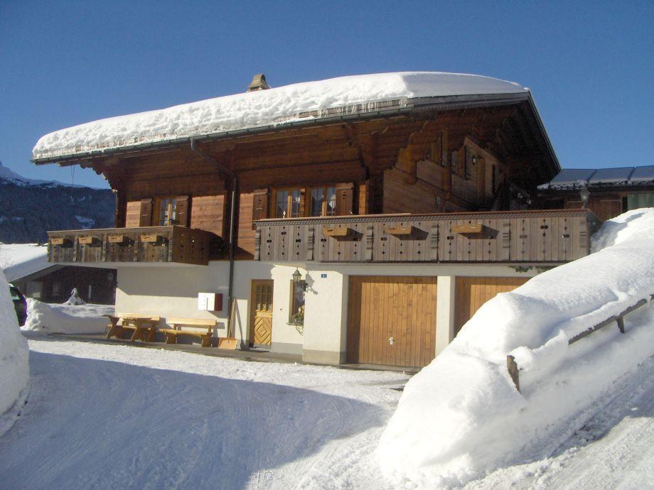 Chalet Stieregg im Winter
