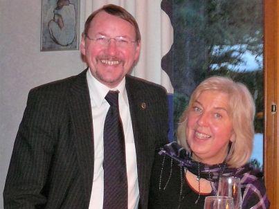 Ihr Gastgeber Rita und Christoph Hirschmann