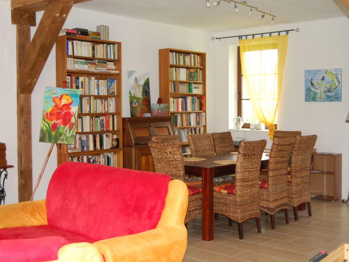 Ferienhaus salchow vorpommern greifswalder bodden for Wohnzimmer mit esstisch