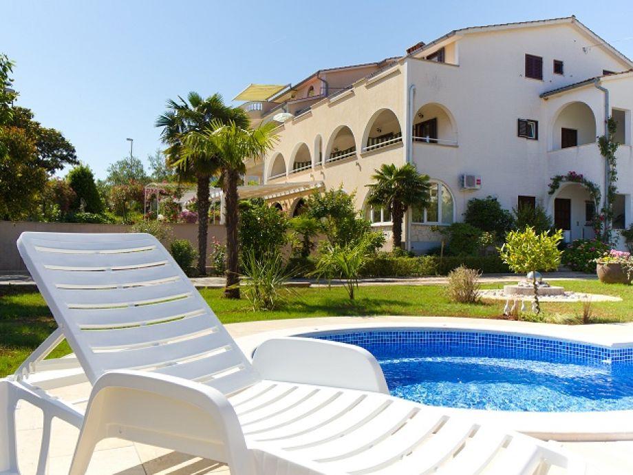 Villa Frankica mit Pool
