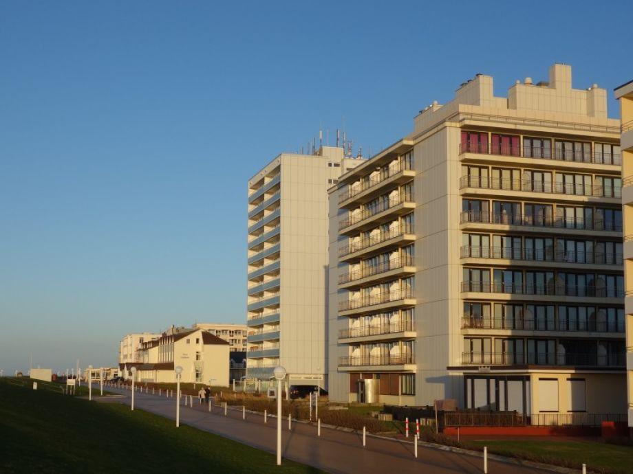 Kaiserhof Ansicht von Strandpromenade