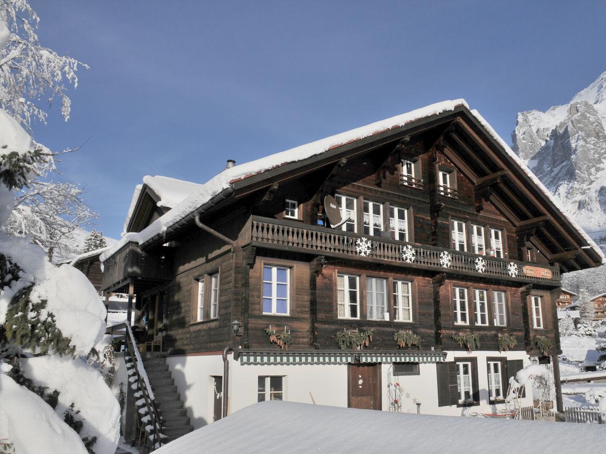 Ferienwohnung jossi grindelwald familie marianne jossi for Goldfischteich im winter