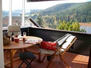 Ferienwohnung Christin im Ferienhaus Waldgrund