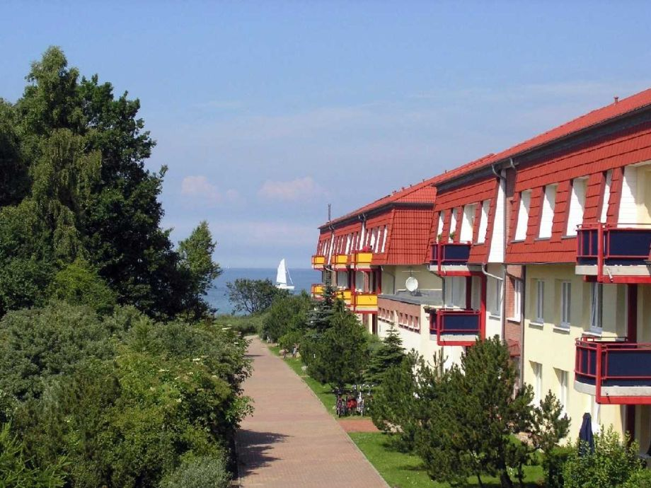 Außenaufnahme Dünengarten Whg. Wa45-34