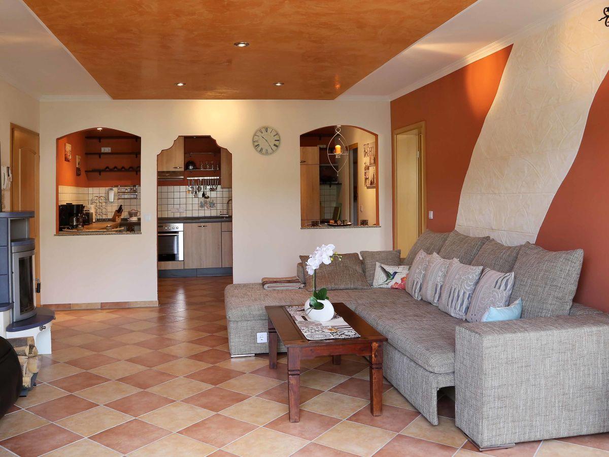 Großartig Wohnzimmer Mediterran Referenz Von Ferienwohnung Eifel