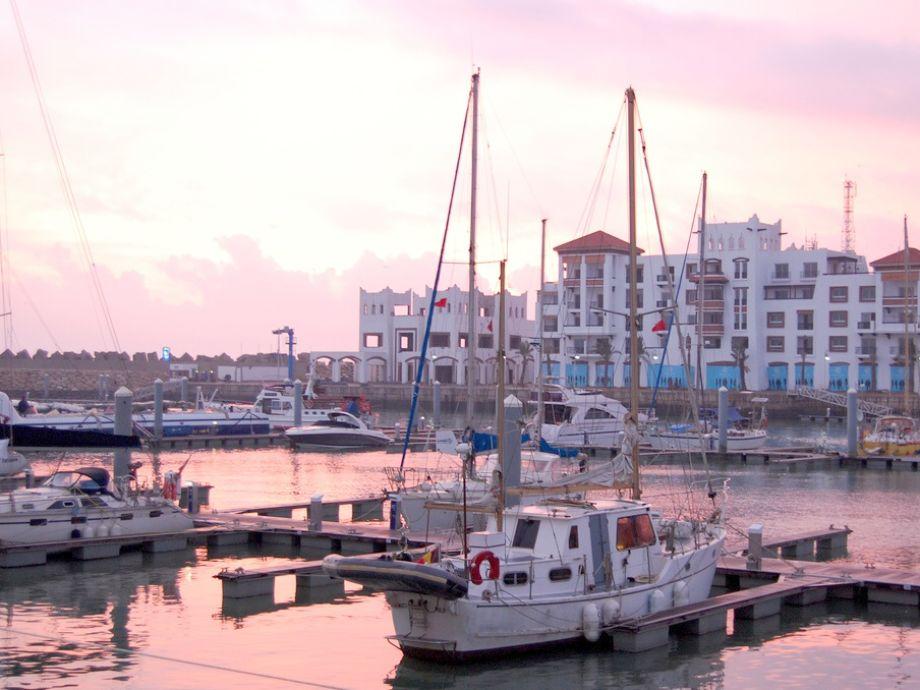 Außenaufnahme Agadir Marina luxury flat
