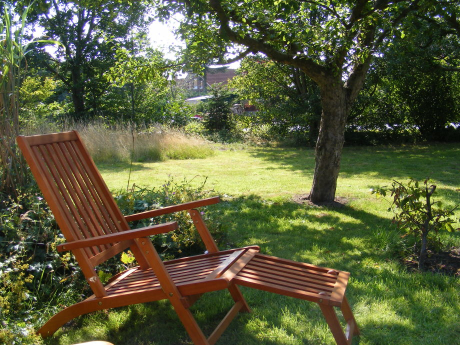 Entspannung unter Apfelbäumen