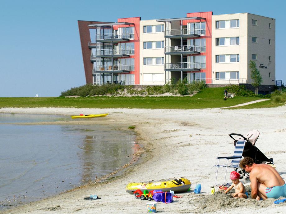 Ferienwohnanlage direkt am Strand und IJsselmeer