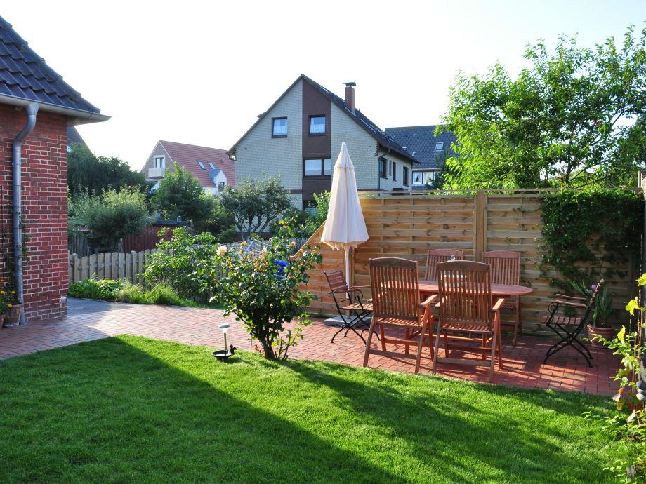 Garten und Sitzecke