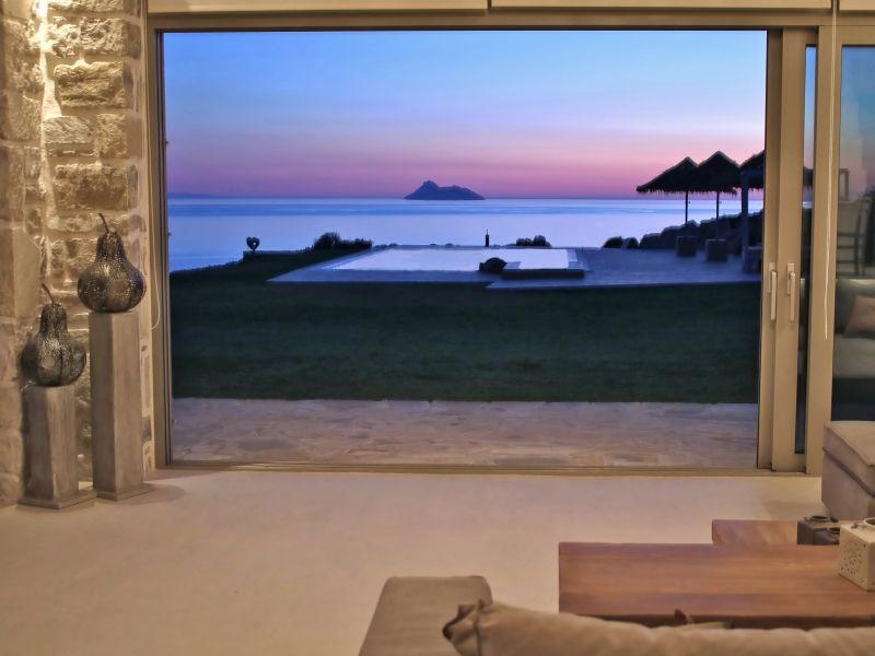 Beachfront Villa Komos
