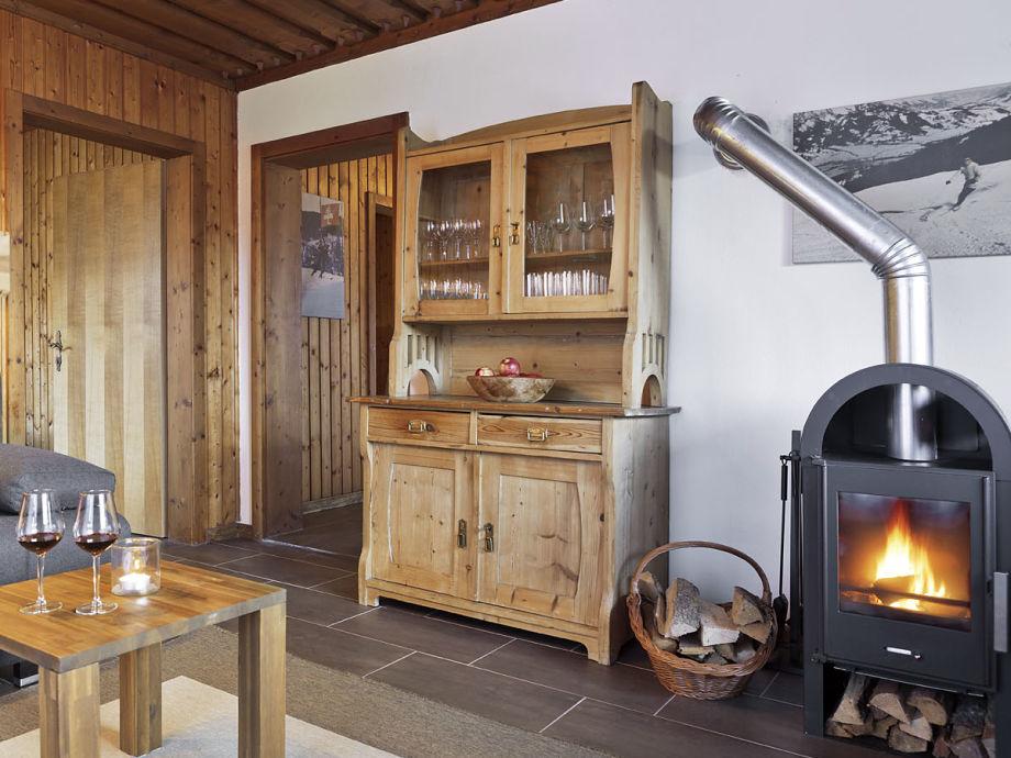 Wohnküche Ferienwohnung 4