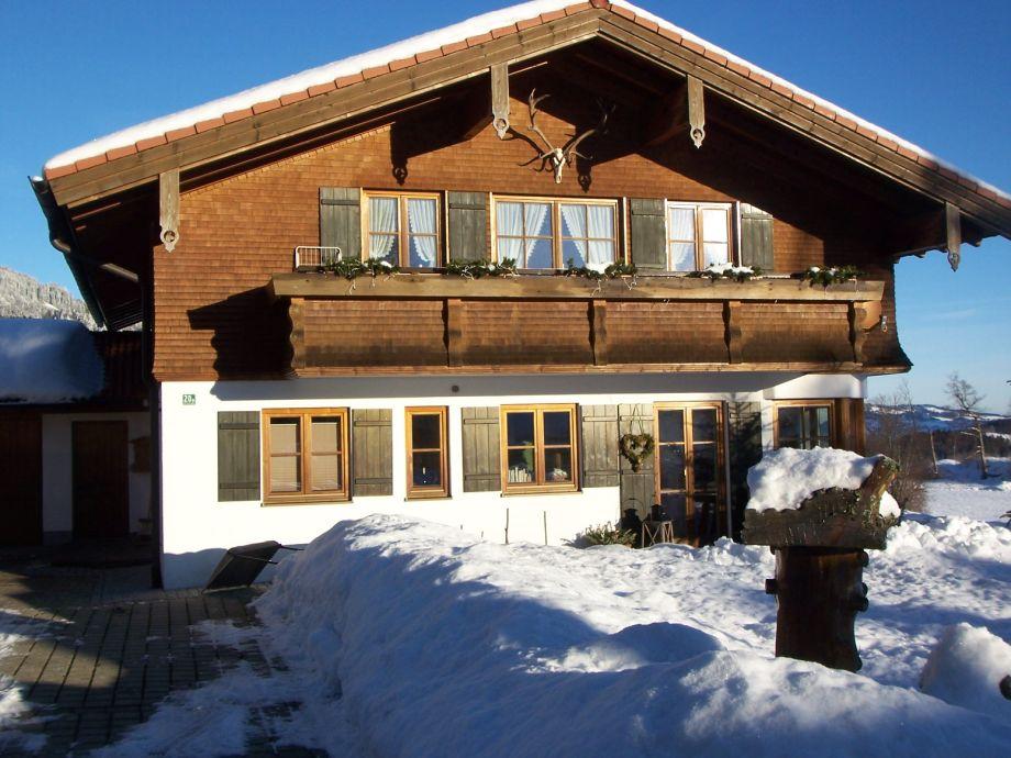 Ferienhaus Gamswinkel im Winter