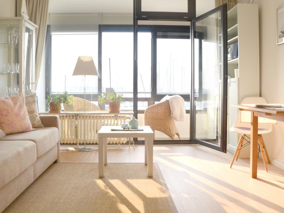 Sonnendurchfluteter Wohnraum