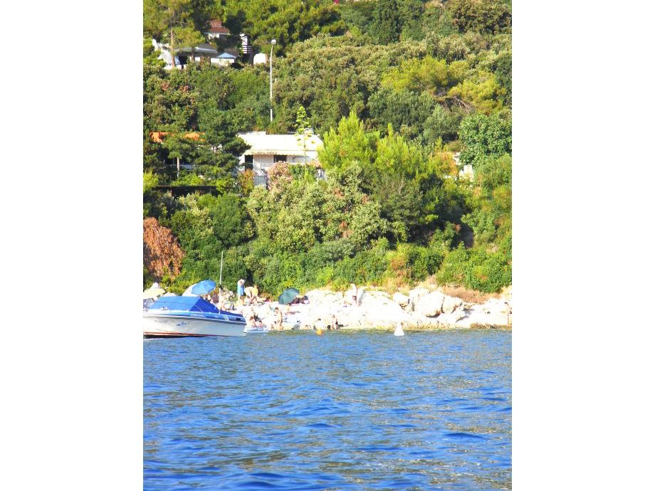 Bungalow Helena vom Meer aus
