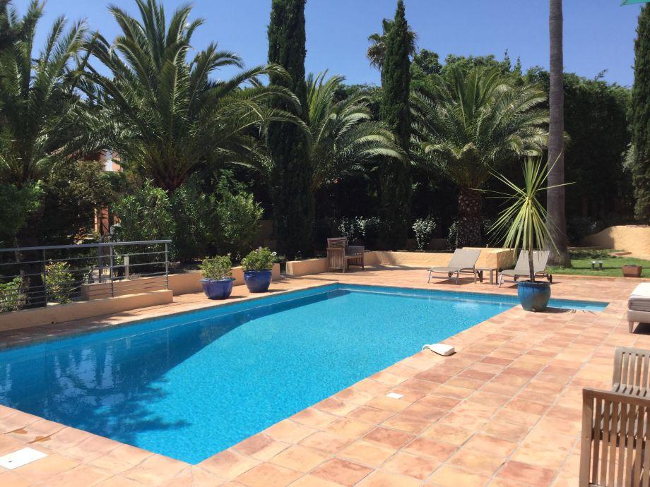 Ansicht Poolbereich - Garten