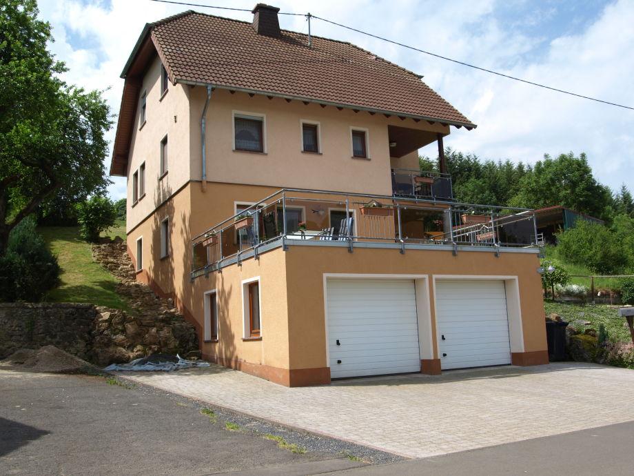 Ferienwohnung Altburgtal im Untergeschoss des Hauses