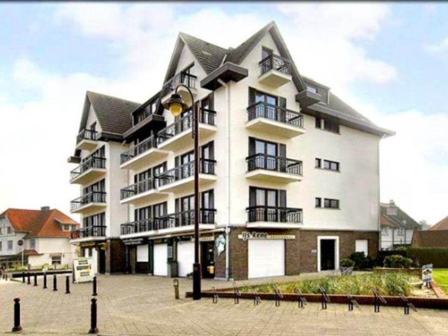 Das Gebäude 'Hotel van Brugge'