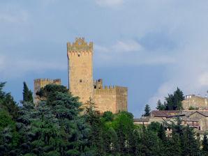 Ferienwohnung Loggia im Schloss Castello Proceno