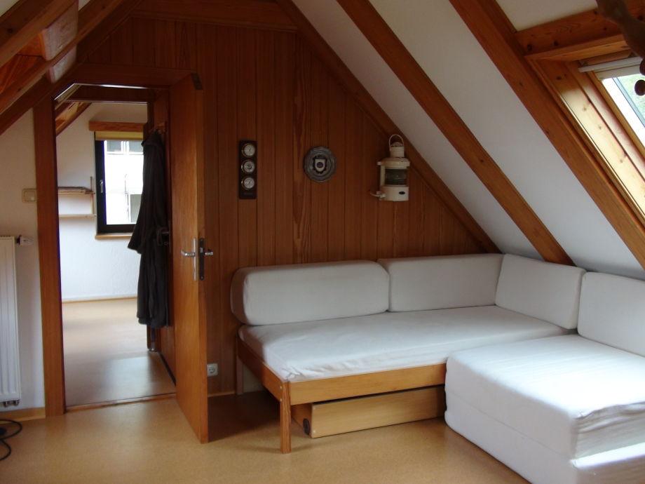 Ferienhaus direkt am belauer see holsteinische schweiz - Schlaf wohnzimmer ...