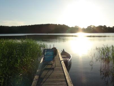 direkt am Belauer See