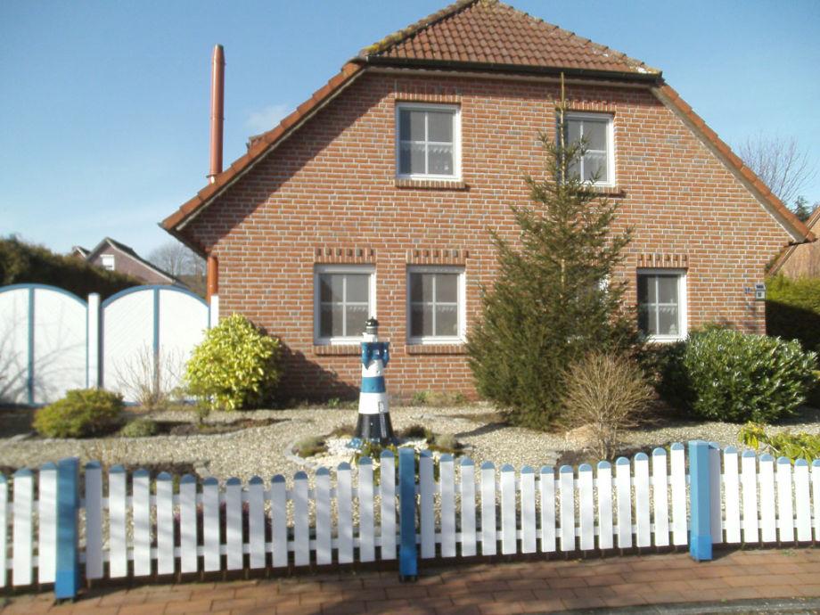 Vorgarten Ferienhaus Kupfer