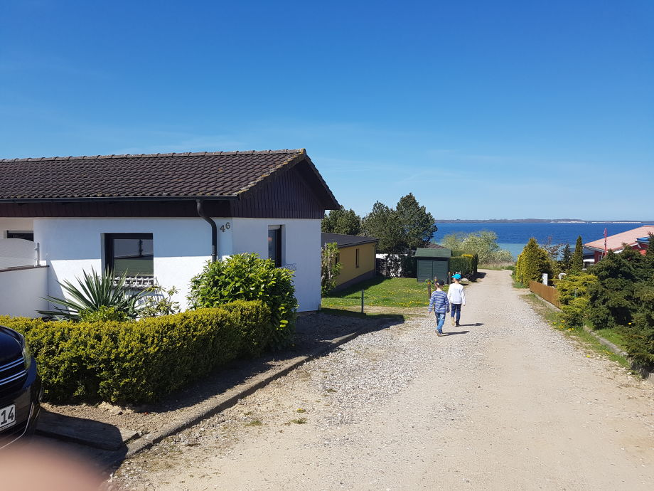 Außenaufnahme Uns Ferienhus mit Ostseeblick