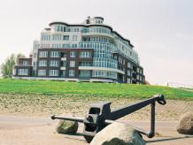 Ferienwohnung 21 im Haus Seeterassen mit direkter Seesicht