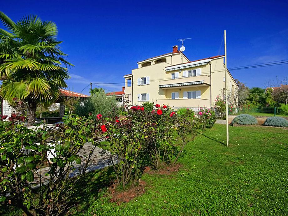 Unser schönes Haus in Spadici-Porec 150 m vom Strand