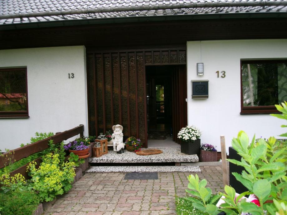 Haus Gisela Eingangsbereich
