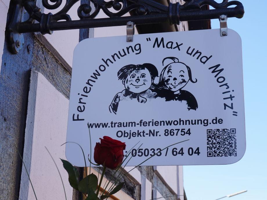 Außenaufnahme Max & Moritz
