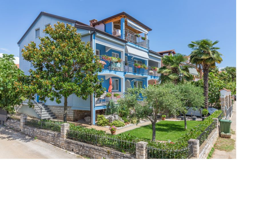 Außenaufnahme Vacation Apartment GD in Villa Tina
