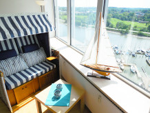 """Ferienwohnung Ferienwohnung """"Boatsman's Cabin"""" über den Wolken des Ostseefjords Schlei"""