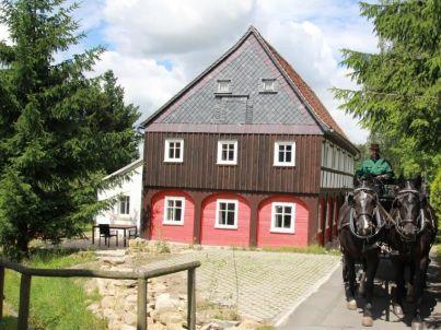 """Oberlausitzer Ferienhaus """"Gebirgshäusl"""" Umgebindehaus"""