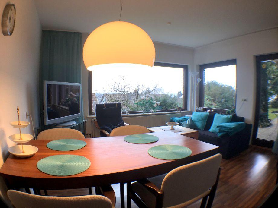 Wohnküche mit 42'' Flatscreen