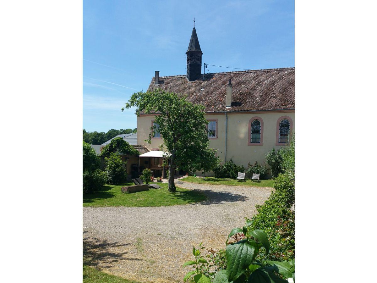 Ferienzimmer bischoff im a l ancien couvent zum alten for Haus mit garten