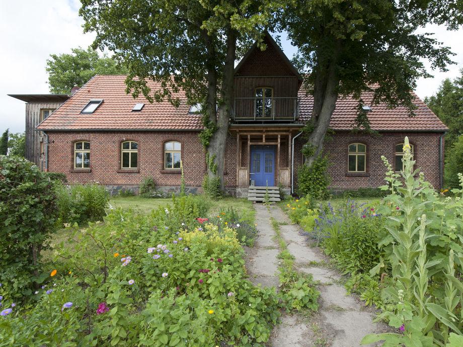Altes Pfarrhaus am Peenestrom auf Usedom