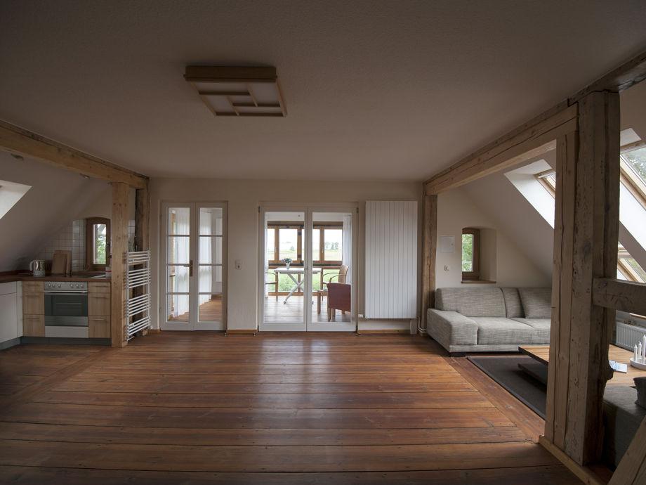 Ferienwohnung altes pfarrhaus am peenestrom auf usedom for Zimmer mit blick