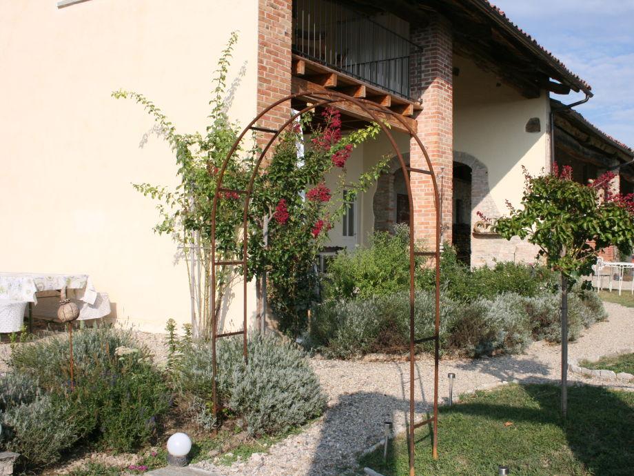 Garten mit Eingang