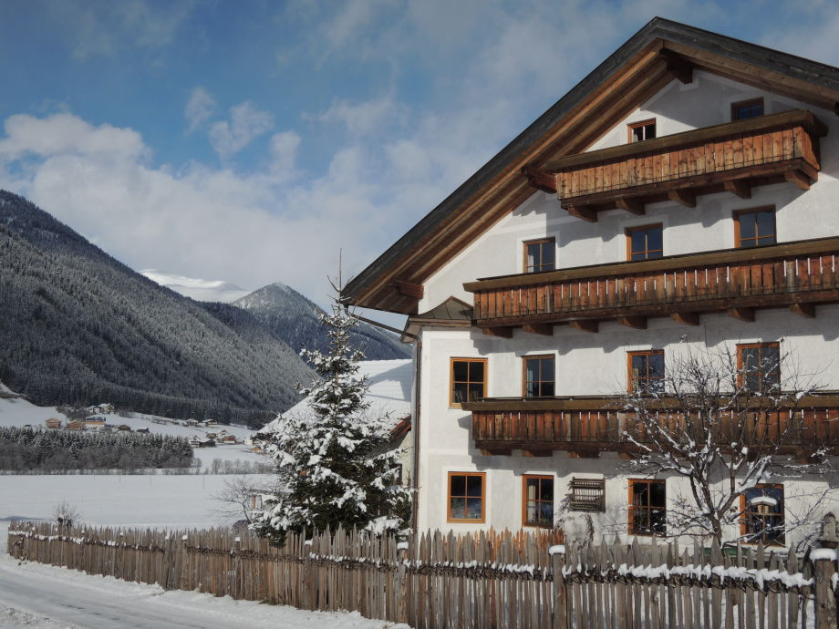 Hintnerhof im Winter